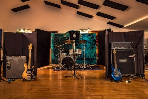 Live Room Band set-up